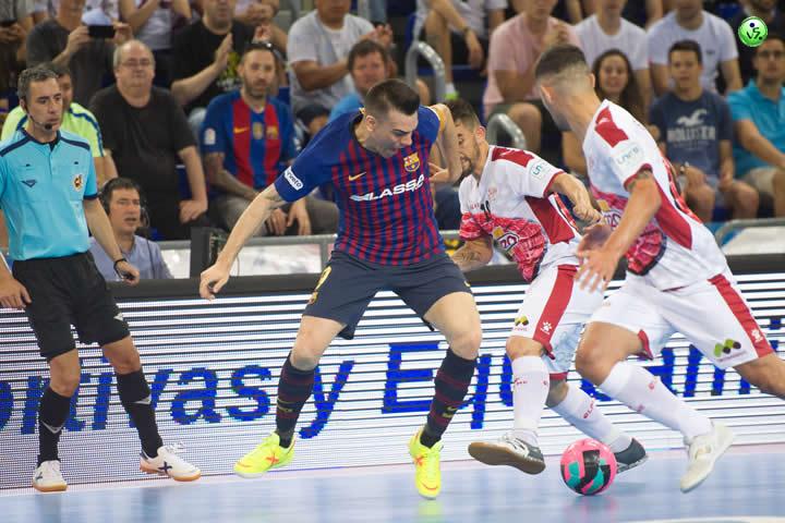 Primer punto de la Final para el FC Barcelona