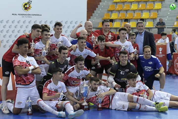 El Pozo campeon de la Copa Juvenil
