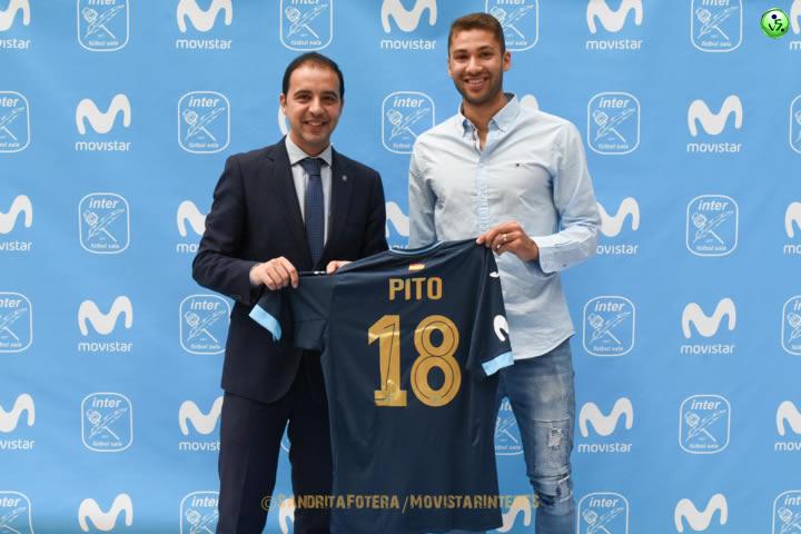 Pito nuevo jugador de Movistar Inter
