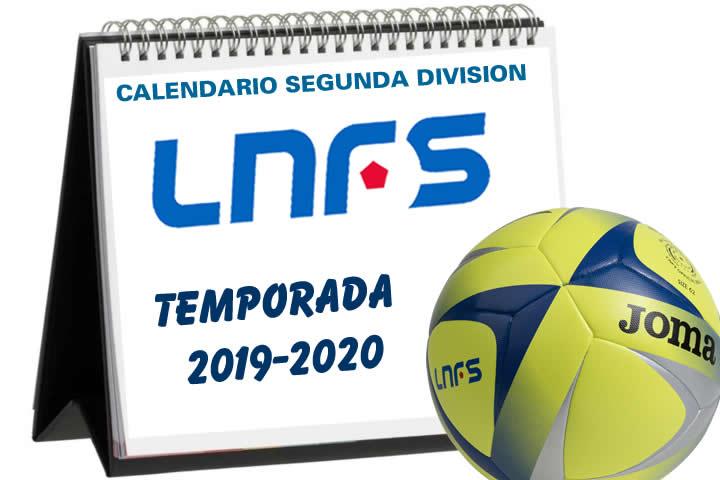 Calendario Segunda LNFS