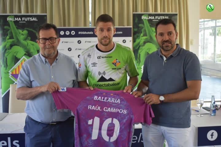 Palma presenta a Raul Campos