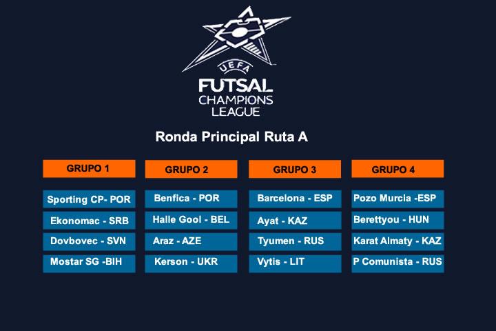 En la UEFA Futsal ElPozo viajará a Hungría