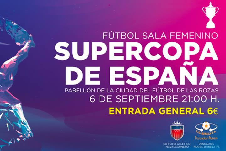 Presentación de la Supercopa femenina