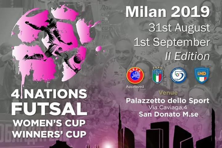 Torneo 4 Naciones Femenino de Milan