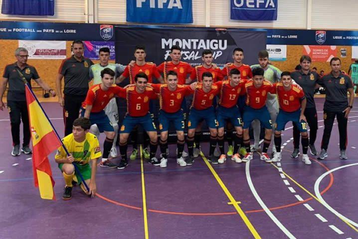 España Sub 19 campeona en Montaigu