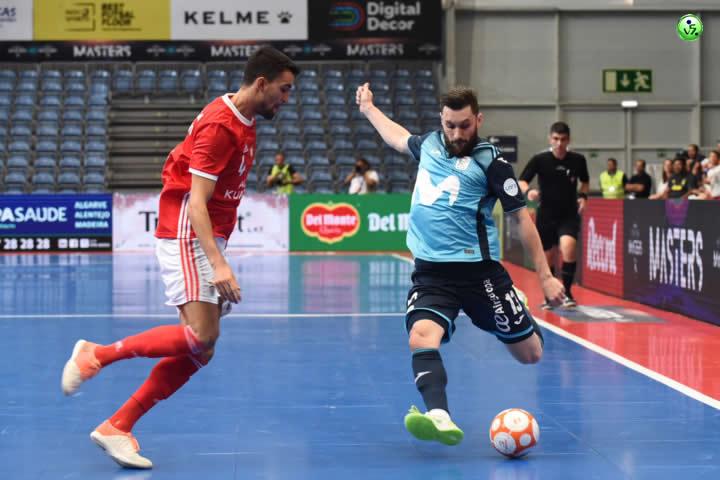 Movistar Inter cae ante Benfica en Portimao