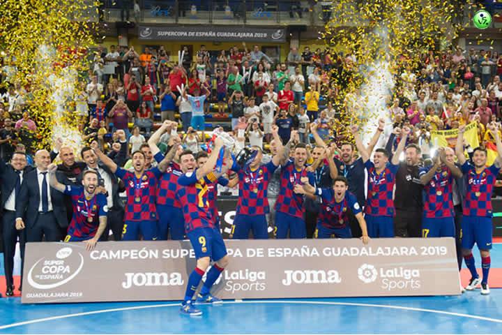 El Barcelona conquisto la Supercopa 2019