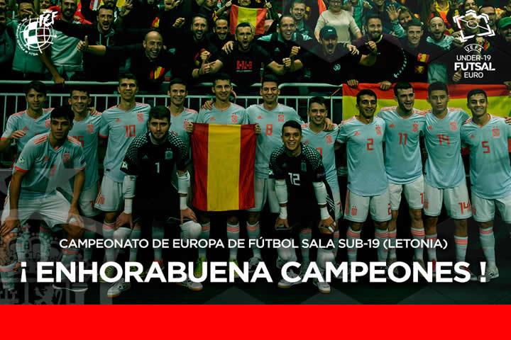 España Sub19 campeona de Europa