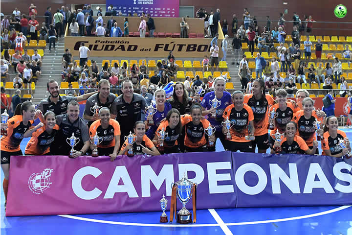 El Burela Femenino campeon de la Supercopa