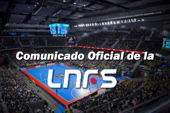 cOMUNICADO oFICIAL lnfs