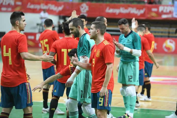 España VS Japon el 2 y 3 de diciembre