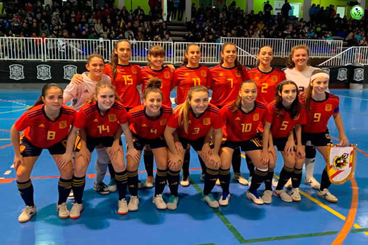 Spain Sub19 Femenina