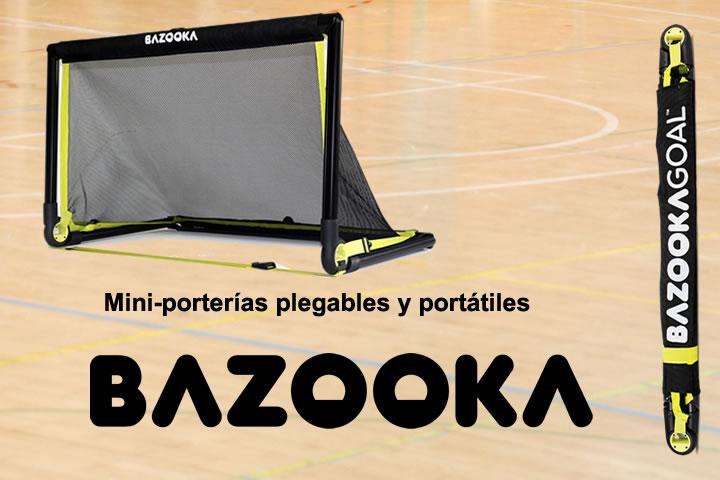 Mini porterias desmontables BazzokaGoal