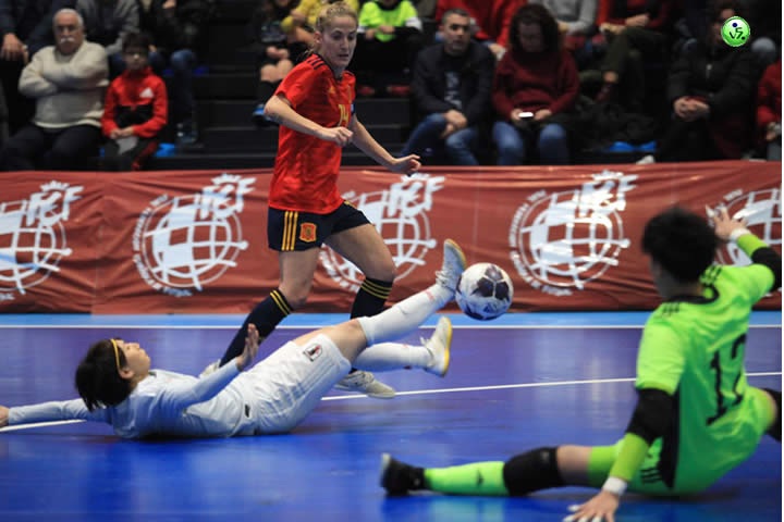 FEMENINO SPAIN vs JAPON