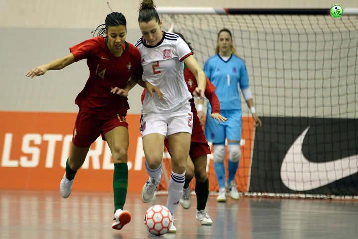 Portugal VS España femenina
