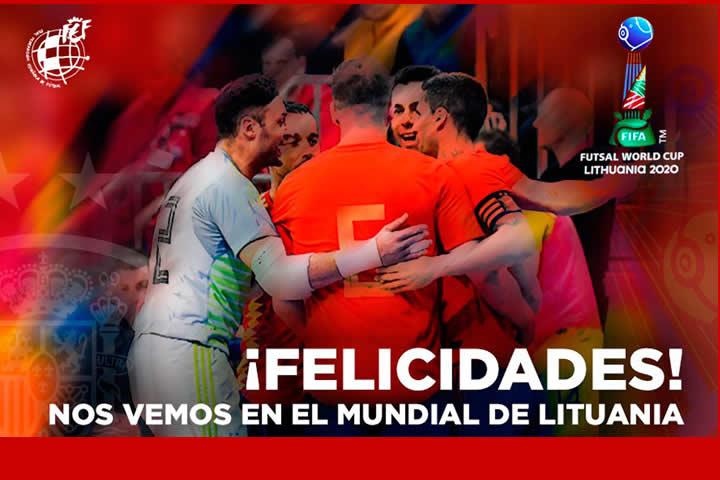 España clasificada para el Mundial de Lituania