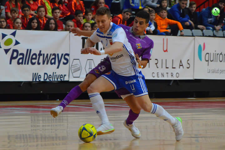 j22 LNFS Zaragoza VS Palma