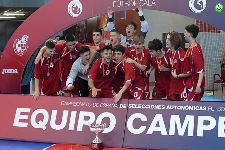 Madrid Campeon sub 19