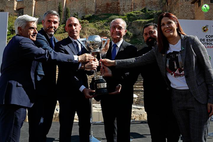 Presentada la Copa de España en Malaga