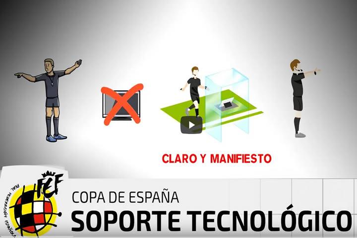 El Soporte tecnologico en la Copa de España