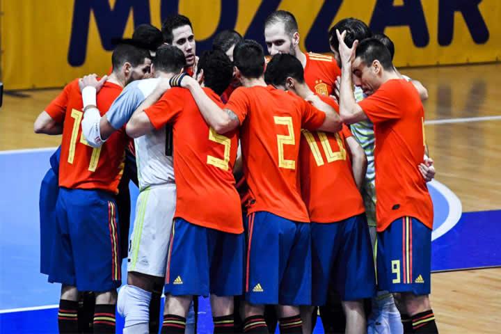 España lidera los Rankings UEFA y FIFA de futsal