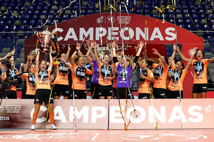 Burela Femenino Campeón de Liga