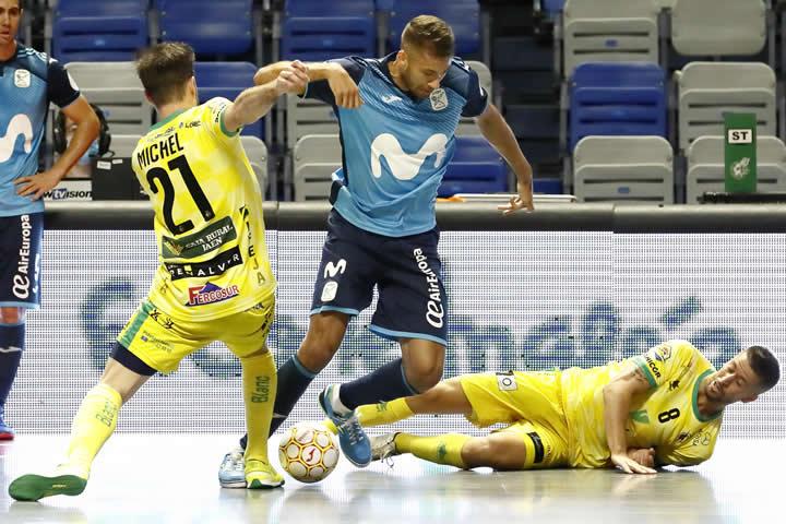 Movistar Inter remonta y elimina al Jaen
