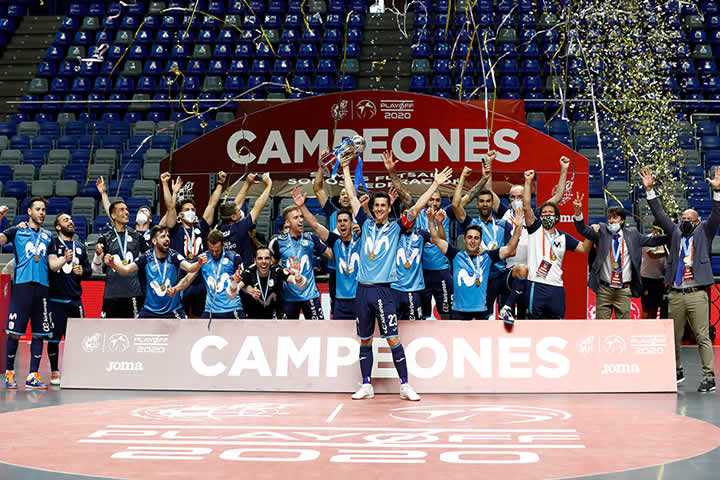 Movistar Inter Campeon de Liga 2019-2020