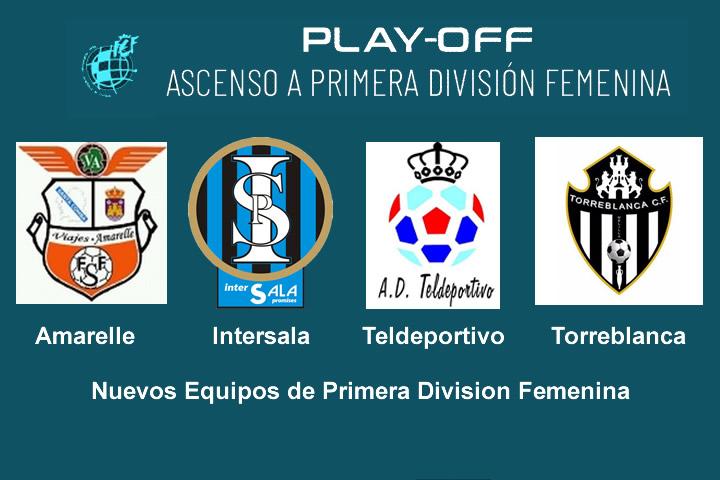 Ascensos a la Primera Division Femenina