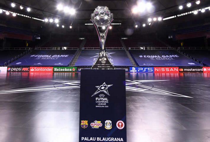 Hoy semifinales de la UEFA Futsal Champion