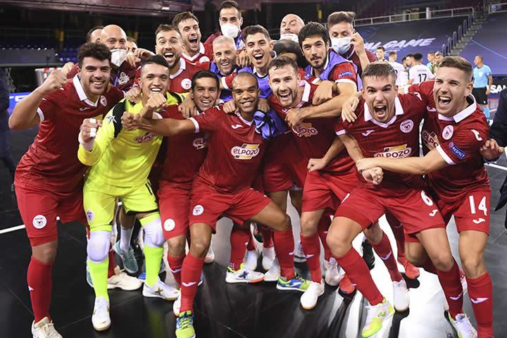 ElPozo Murcia finalista de la UEFA Futsal