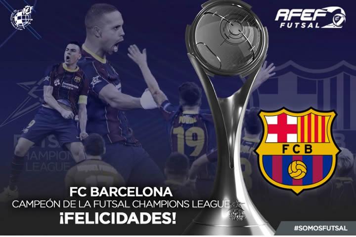 El FC Barcelona campeon de Europa