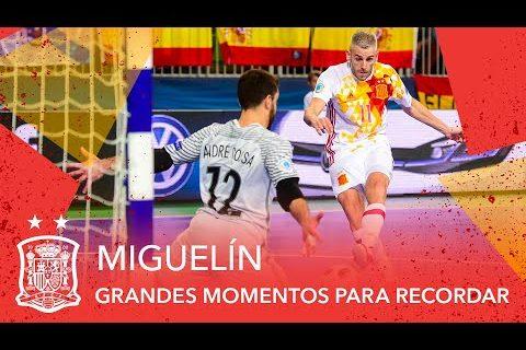 'Miguelín', un jugador de leyenda