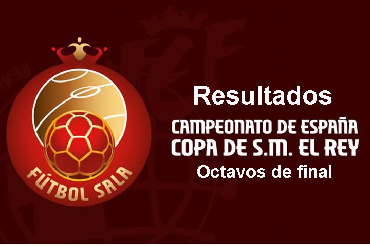 Resultados octavos Copa del Rey