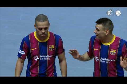 RESUMEN | Real Betis Futsal 3-6 Barça | 1ª semifinal Copa del Rey