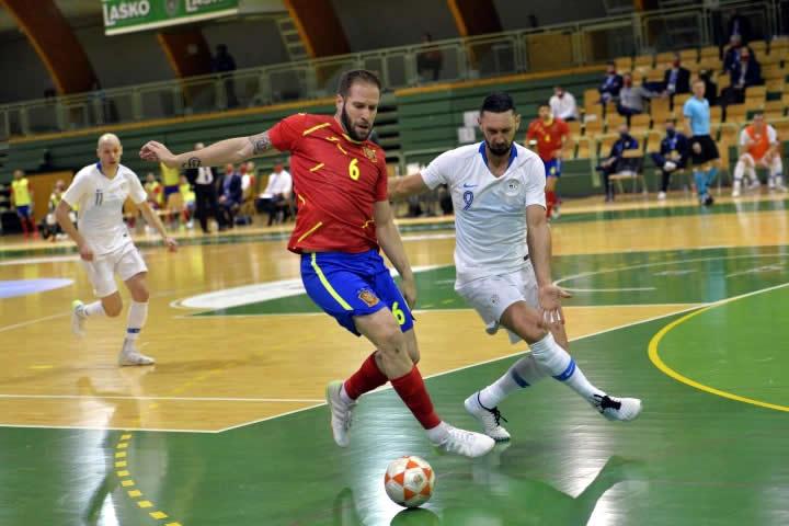 UEFA Selovenia VS España