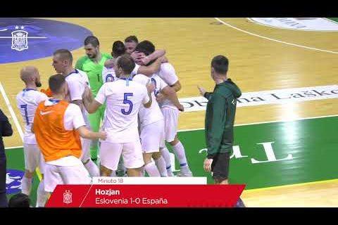 RESUMEN | Eslovenia 1-2 España | Fase de Clasificación al Europeo de 2022