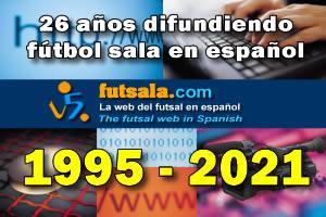 26 años haciendo futsala.com