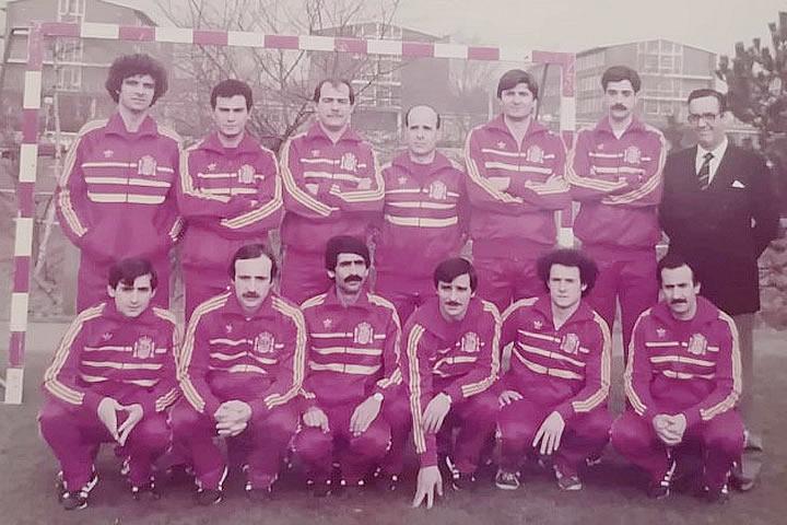 Primera Seleccion de Futsal 1982