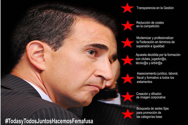 Roberto Gracia será Presidente de Femafusa