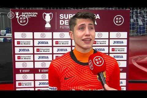 Declaraciones de Óscar y Eric Martel tras la Supercopa de España de Fútbol Sala