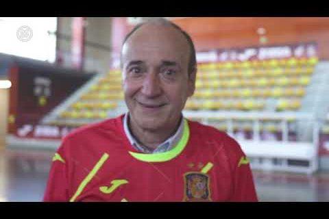 Entrevista a Jorge Ferrnández, primer capitán de la Selección Española de Fútbol Sala