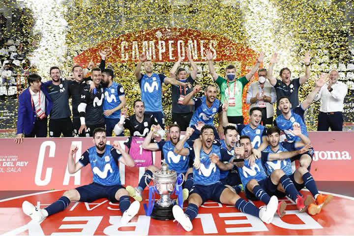 Movistar Inter Campeon de la Copa del rey
