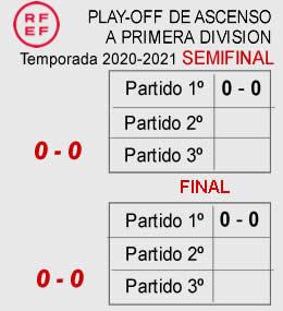 Play-Off ascenso Primera-Semi-Final
