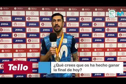 POST PARTIDO TELLO FINAL COPA DEL REY 2021 | Fernando
