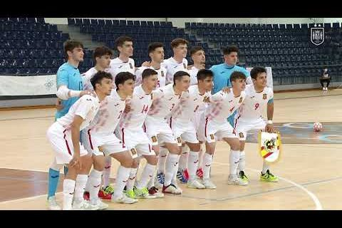 RESUMEN | Fútbol Sala Sub-19 | Portugal 1-3 España