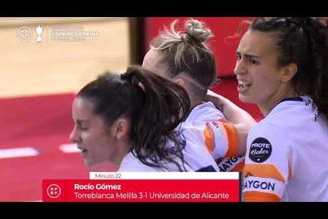 📺 RESUMEN | Torreblanca Melilla 7-2 Universidad de Alicante | 1ª Semifinal #CopaDeLaReinaFutsal 2021