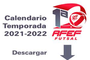 Calendario 21-22 Primera