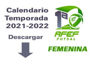 CALENDARIO 21-22- pRIMERA fEMENINA