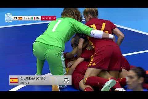 España vence a Italia y se clasifica para el Europeo de fútbol sala (6-0)